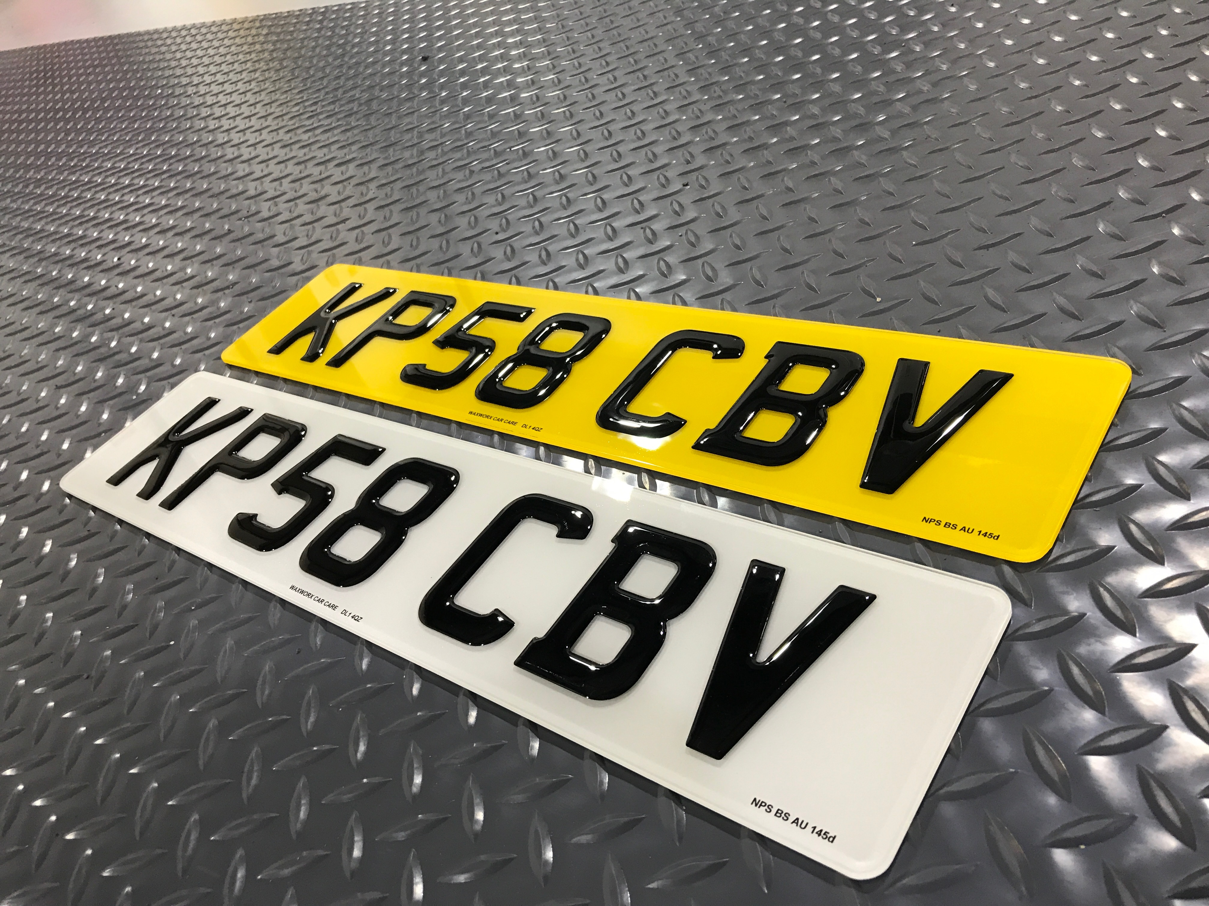 Master Car Wash >> PL8-Worx 3d Custom Gel Number Plates (PAIR) (CUSTOM SIZED ...