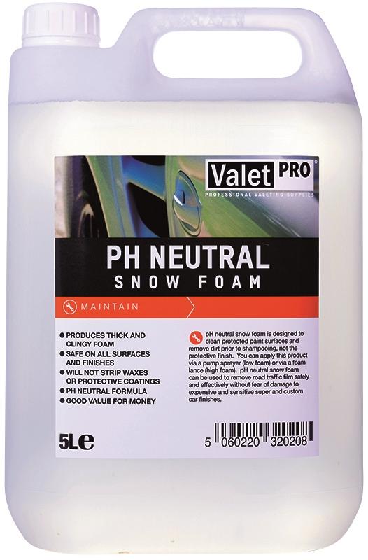 Valet Pro Ph Neutral Snowfoam 5l Waxworx Car Care
